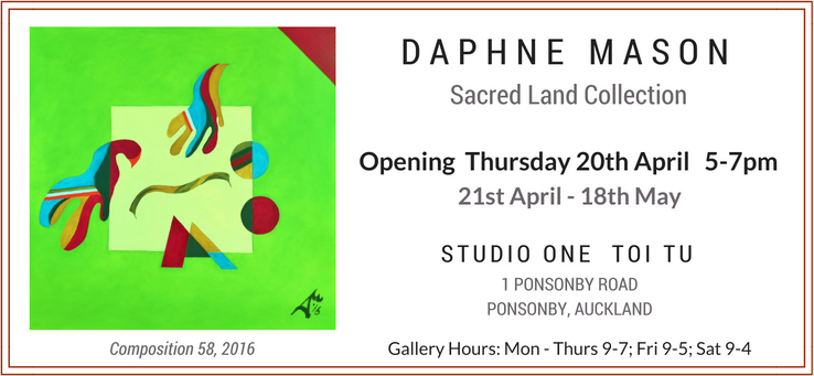 Daphne Mason Art News Ad - Sacred Land Collection