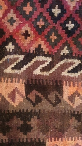 Modern Afghan Kilim, detail. Almar or Maimana provenance?