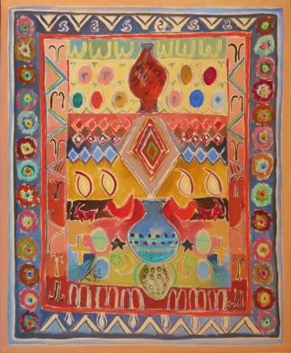 Persian Carpet 1. 1987. Daphne Mason