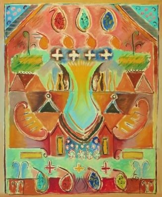 Persian Carpet 3. 1987. Daphne Mason