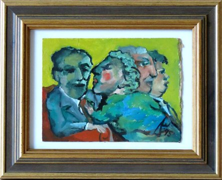 1995-dm029-youre-always-in-my-window-1995-sold-oil-on-board-wooden-frame-with-gilt-detail-and-glass-21-3cm-h-x-26-3cm-w